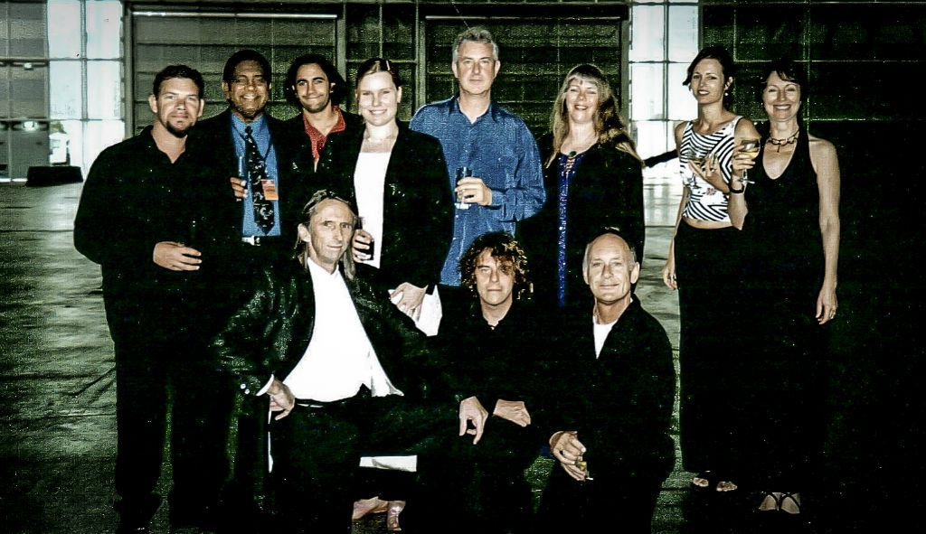 Singing for the NSW Premier on Australia Day 2004, with the Sydney Youth Orchestra, GANGgajang, Robert James, Jimmy Little, Reg Mombassa, James Henry and others