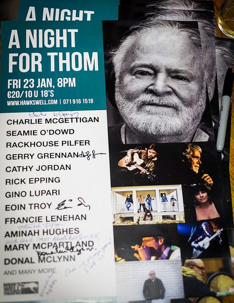 Night for Thom Moore poster